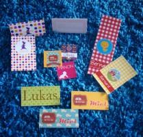 Labels en wikkels in alle formaten bij Kers op de Taart
